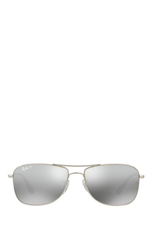 Ray-Ban - 0RB3543 393821 Silver/Grey Gunmetal Polarized Sunglasses