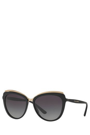Dolce & Gabbana - 0DG4304 400495 BLACK Sunglasses