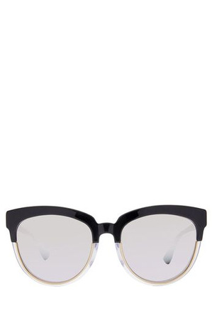 Christian Dior - DIORSIGHT1F RECTANGLE 398498 BLACK  ASIAN FIT