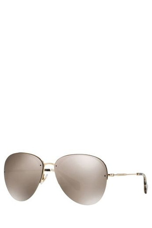 Miu Miu - MU 53PS NOIR SUNGLASSES 374439 GOLD