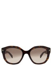 Prada - PR 12SSF  386210 BROWN  ASIAN FIT