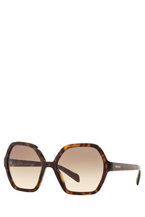 Prada - PR 06SSF  386205 BROWN  ASIAN FIT