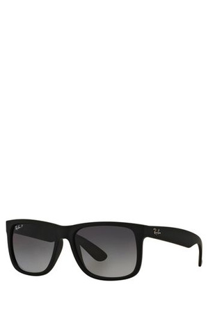 Ray-Ban - RB4165F JUSTIN 55  386485 BLACK POLARISED ASIAN FIT