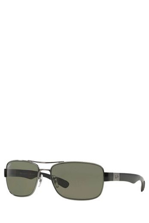 Ray-Ban - RB3522  368915 SILVER/GREY GUNMETAL POLARISED