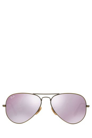 Ray-Ban - RB3025 AVIATOR  55  SMALL 368904 COPPER/BRONZE