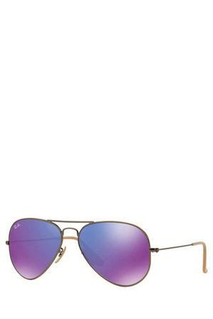 Ray-Ban - RB3025 AVIATOR  55  SMALL 368901 COPPER/BRONZE