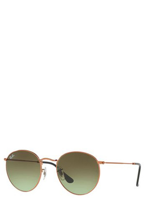 Ray-Ban - RB3447 ROUND METAL 401069 COPPER/BRONZE