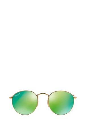 Ray-Ban - RB3447 ROUND METAL 401062 GOLD POLARISED