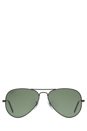Ray-Ban - RB3025 AVIATOR  58  MEDIUM 371100 BLACK POLARISED