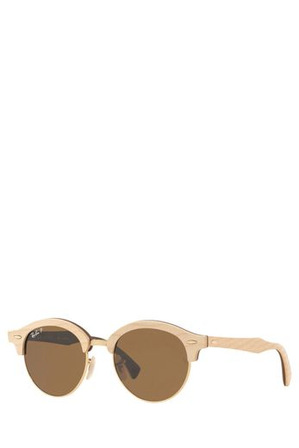 Ray-Ban - RB4246M CLUBROUND WOOD 404140 GOLD POLARISED