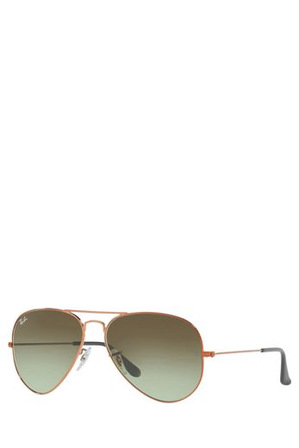Ray-Ban - RB3025 AVIATOR  58  MEDIUM 404785 COPPER/BRONZE