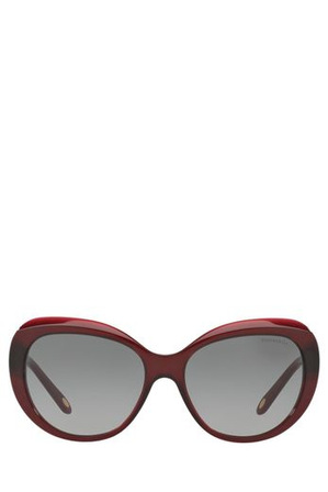 Tiffany & Co - TF4122F BLUE ENTRY | TIFFANY 1837 397080 RED/BURGUNDY  ASIAN FIT