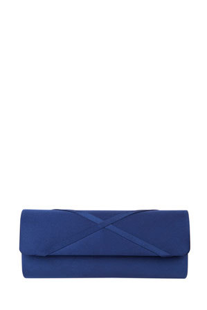 Alan Pinkus - Lacy Navy Satin Bag