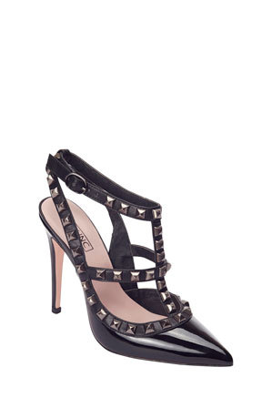 Alan Pinkus - Pink Inc Saint Black Patent Pump