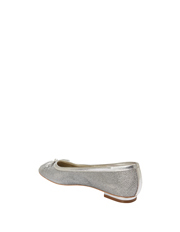 Alan Pinkus - A.P.Too Twist Silver Sparkle Pump