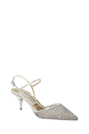 Alan Pinkus - A.P.Too Bless Black/Silver Crackle Pump