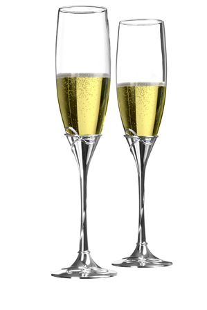 Waterford - Celebration Flutes Toasting Flute Pair