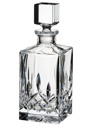Waterford - Lismore Square Decanter