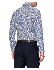 Rodd & Gunn - Lombard Long Sleeve Tailored Fit Shirt - Royal