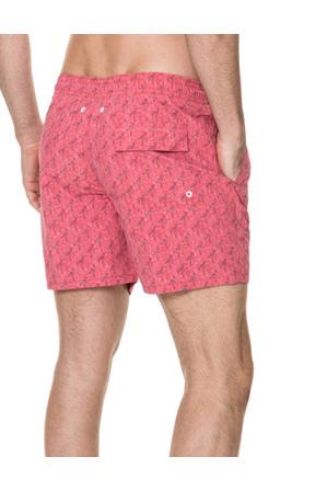 Rodd & Gunn - Dryden Board Short - Pomegranate