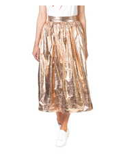 Skin and Threads - Metallic Full Skirt