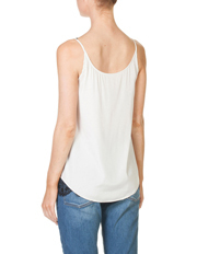 Skin and Threads - Lace Trim Tank
