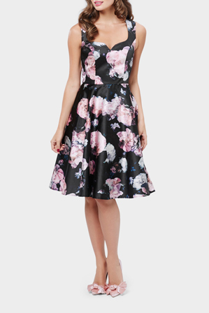 Review - Nightfall Floral Dress