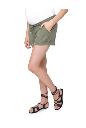 Ripe Maternity - Tencel Combat Shorts