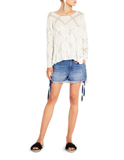 Sass & Bide - In My Opinion Relaxed Boyfriend Shorts