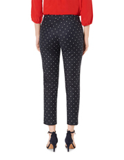David Lawrence - Polka-dot Print 7/8 Pants