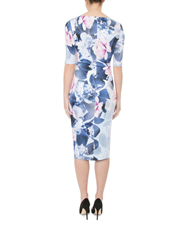 Anthea Crawford - Ultra Floral Jersey Dress
