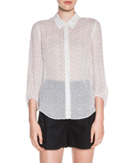 Cue - Pinspot Georgette Shirt