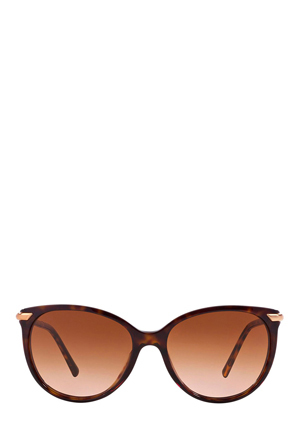 Burberry - BE4186 London Tubular Brown Sunglasses