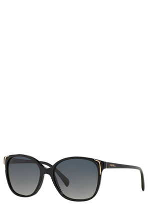 Prada - 0PR 01OS Seasonal Black Polarised Sunglasses