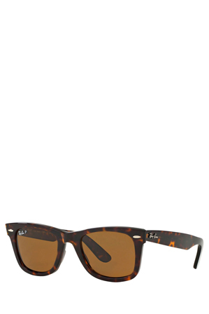 Ray-Ban - 0RB2140 Original Wayfarer 50 Tortoise Polarised Sunglasses