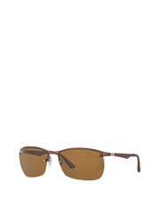 Ray-Ban - RB3550 ACTIVE LIFESTYLE 396710 BROWN POLARISED
