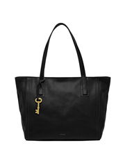 Fossil - ZB6844001 Emma Double Handle Tote Black