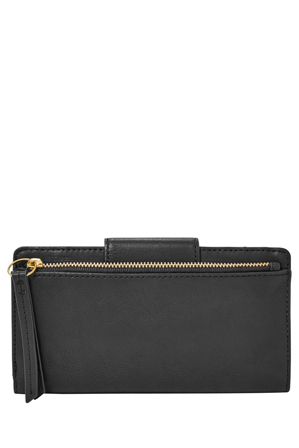 Fossil - SL7154001 Emma Flap Over Clutch Black