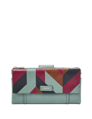 Fossil - SL7560494 Ellis Flap Over Wallet