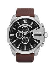 fashion watches buy men s fashion watches online myer dz4290 mega chief watch in brown silver
