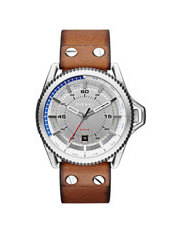 fashion watches buy men s fashion watches online myer dz1715 roll cage watch in light brown