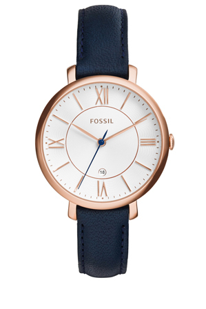 Fossil - Jacqueline Blue Leather