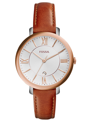 Fossil - Jacqueline Dark Brown Leather