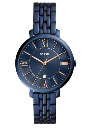 Fossil - ES4094 Jacqueline Watch Blue