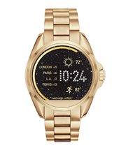 MKT5001 Bradshaw Gold-Tone Display Watch