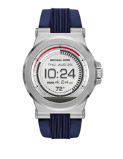 Michael Kors Wearables - MKT5008 Dylan Navy and Stainless-Steel Display Watch