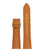 Michael Kors Wearables - MKT9004 Bradshaw Tan Luggage Smooth Leather Strap