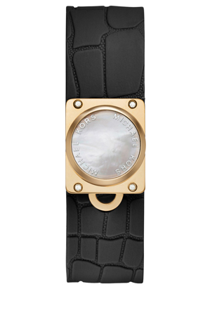 Michael Kors Wearables - MKA101007 Reade Black Leather Tracker