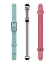 Misfit - Misfit MIS9007 Blue, Pink And Grey Ray Straps