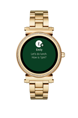 Michael Kors Wearables - MKT5021 Sofie Gold Smartwatch